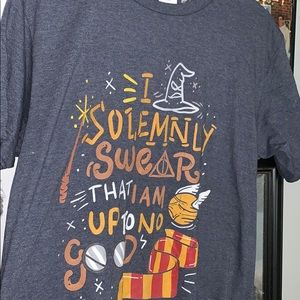 "Harry Potter t shirt ""i solemnly swear"""